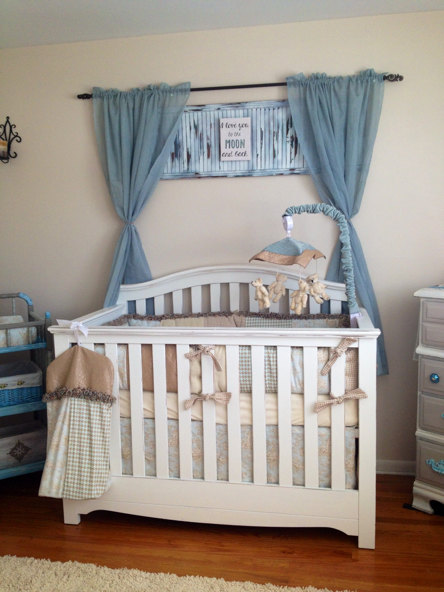 Crib for sale craigslist - After The Crib I Set Out To Find Either A Nice Used Bassinet Or A Cradle I Found A Gorgeous White Jenny Lind Style Rocking Cradle On Craigslist With